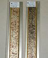 moldeo ps de madera marco de imagen de poliestireno moldeado