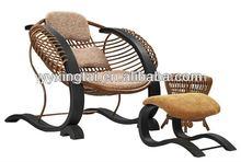 DEMNI High back rattan outdoor furniture