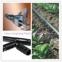 Plastic Equipment: Inlaid Cylindrical Emitter Drip Irrigation Pipe Machinery for Water Saving