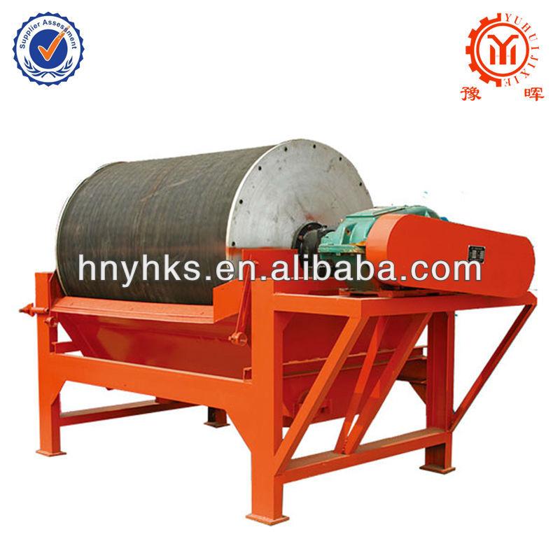 Yuhui alta eficiencia húmedo separador magnético para mineral de hierro