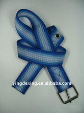 braided woven belt, High quality comfortable fishbone shape wax cotton rope woven belt