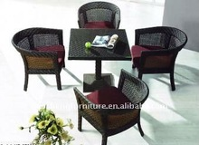 Rattan synthenic outdoor furniture