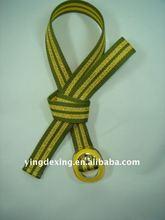 2012 Fashion webbing man belt designer style for men