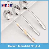 beauty stainless steel sugar spoon