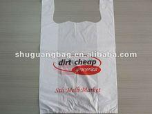 VERY cheap plastic t-shirt bag