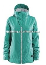 Ladies Ski Jacket with Concealed Hood