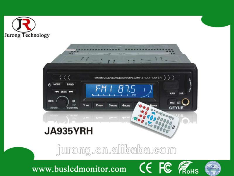 Hot selling JA935 12 V car hdd media player led display
