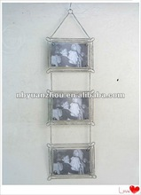 Vintage Wall mounted metal picture frame 77cm