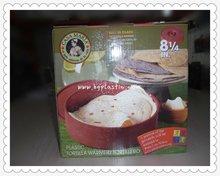 Plasic hot sellin tortilla warmer / tortilla server/tortilla container,food grade