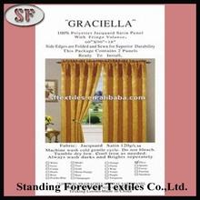 Africa decorative curtain