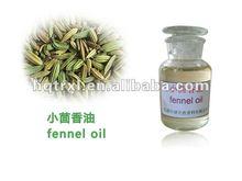 100% Natural fennel oil, fennel flavor oil, fennel fragrance oil manufacture