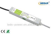 2013 indoor IP67 waterproof LED driver 12V 25W
