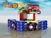 Popular amusement park design,racing car receiption desk, car theme park
