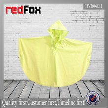 wholesale best selling kids yellow rain poncho