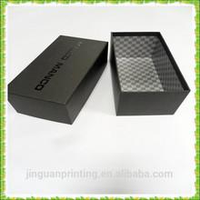 Custom made cardboard paper shoe box/base and lid paper shoe box