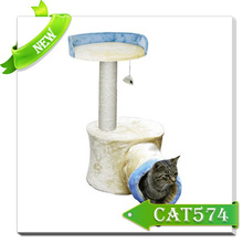 Hot sale new products of cat toys/wooden cat furniture/indoor moveable cat tree
