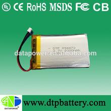 li-polymer 3.7v 3200mah lithium li-ion polymer battery 894472