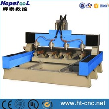 4 Heads 3D sculpture machine for carving