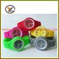 nueva caliente occidental de marca deportiva elegante set de regalo reloj de silicio