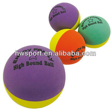 2013 Eco Friendly High bouncing foam rubber sponge ball