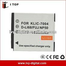 Digital Battery for D-LI68/KLIC-7004/FUJI NP50