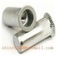 ss countersunk head closed end rivet nut