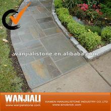 Walkway stone paving