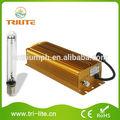 400 W llevado crece la luz kit HPS lámpara sistemas hidropónicos