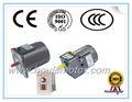 110v 220v 380v mini eléctrico ac motor eléctrico de inducción del motor del engranaje de reducción del engranaje del motor del motor