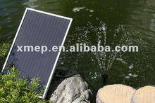 P011B Solar panel garden