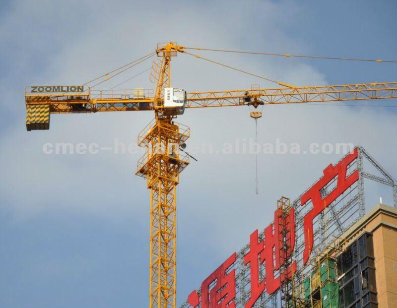 Tower Crane Guide : Zoomlion ton tower crane tc b buy