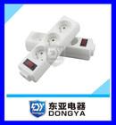 3 outlet power strip new design socket Eu power strip