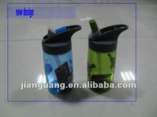 plastic BPA free school bottle for sports 2012 new design