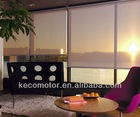 KECO motorized roller shade, rolling curtain and roller blinds with tubular motor, electronic limit and RS485