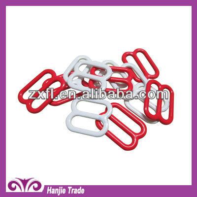 Nylon Coated Iron Bra Sliders/Hooks For Underwear
