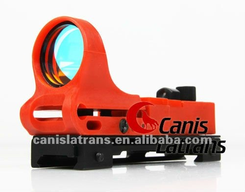 Colorful 1*29 railway red dot scope mini red dot scope with rail