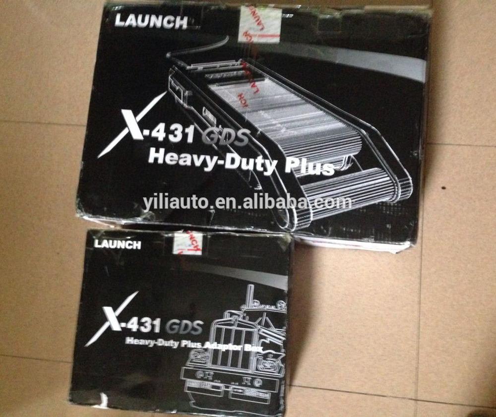 tüm kamyonlar için türü orijinal X431 GDS dizel evrensel kamyon tarayıcı