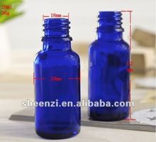 Supper quality Competitive Price blue Essential oil bottles/essential oil bottles oil empty bottle/essential oil green glass