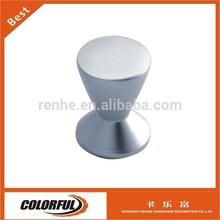 Glossy Oxidation Aluminum alloy diecast cabinet door knob