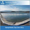 La presa revestimiento geosintético arcilla( gcl) bentonita