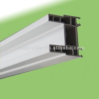 60 window and door frames co-extruded PVC/UPVC profile