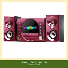 Fashional woofer speaker for computer with usd/sd card/fm,2.1 multimedia system
