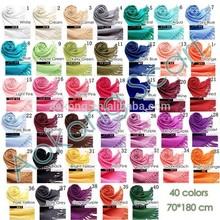 Wholesale plain wedding solid color 30% silk 70% pashmina