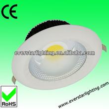 HIgh power 10/15/20/25W cob led, led cob downlight Ra>80,CE,RoHS