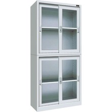 cheap steel filing cabinet with sliding glass door