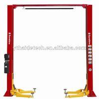 **QJ-Y-2-35D 2 pole hydraulic car lift,clear floor lift
