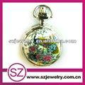 Swh0227 popular nuevo estilo de bolsillo relojes de cuarzo de cerámica