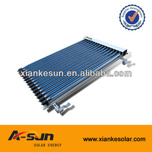 2014 High Quality Copper Pipe Vacuum Solar Collector China