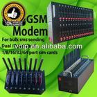 New wavecom gsm modem for bulk sms sending 64 port usb gsm modem pool