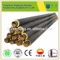 Pré-fabricada diretamente enterrados espuma de poliuretano duplas melhor preço tubo de encanamento